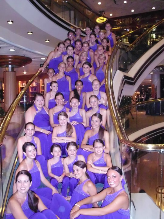 2011 Cruise Dancers - Royal Caribben Majesty of the Seas